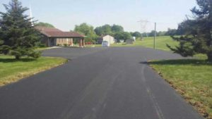 church paving project 2