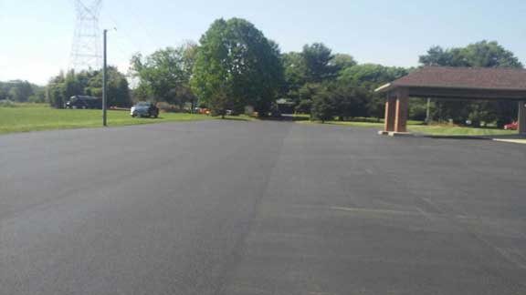 commercial church asphalt
